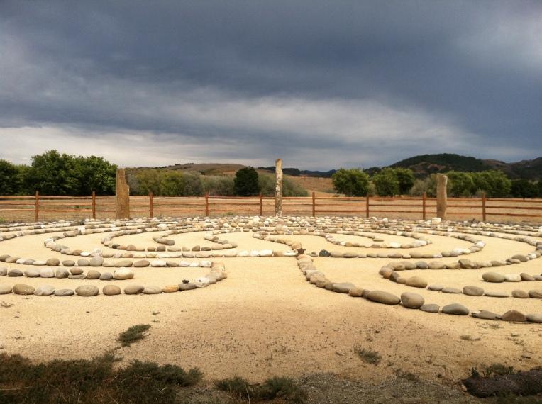 labyrinth at Sunburst Sanctuary