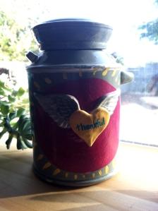 gratitude creation jar