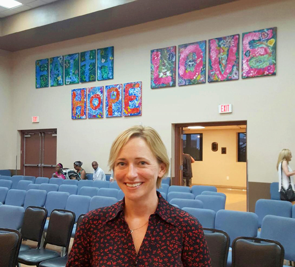 Faith Hope Love installed