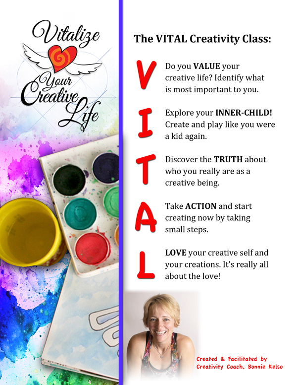 VITAL Creativity Class Flyer