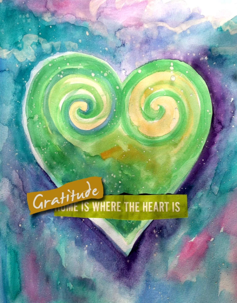 Gratitude is where the heart is