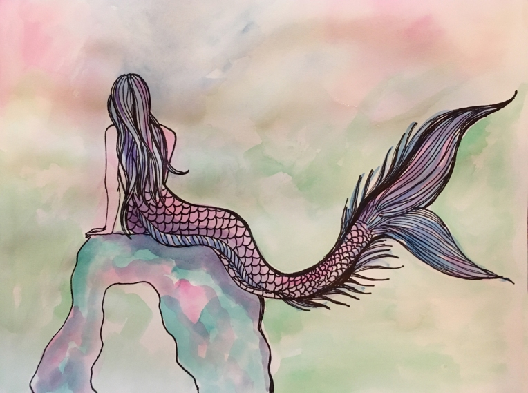 Mermaid-Gazing-by-Bonnie-Kelso